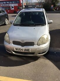 Toyota Yaris 1.3, 2004 Excellent Runner £950 Only