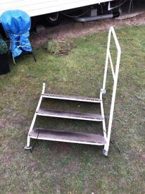 Static Caravan Steps