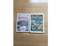 2 detective/ mystery books
