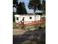 SITED STATIC CARAVAN, CLUBHOUSE SWIMMING POOL, NEAR BEWDLEY