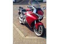 Honda VFR 1200 GT very good condition low mileage full Honda services history