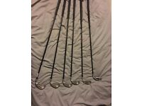 odyssey putter and Taylormade clubs pro flexi shafts
