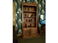 Indian wood tall unit