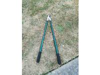 Extendable loppers