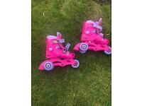 Kids 3 wheeled roller blades
