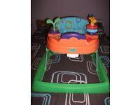 Mothercare Multi coloured unisex baby walker