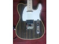 Custom made telecaster guitar