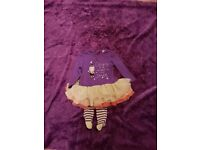 Baby girls halloween outfit age 6-9months worn once