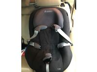 Familyfix base and car seat
