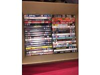 75 used dvds £15 collection only