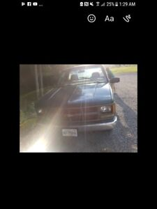 97 Chevy 1500 WT for sell or trade for nice sled