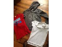 Hollister Hoody and T Shirt size small