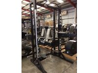 TECHNOGYM PURE STRENGTH OLYMPIC HALF RACKS FORSALE!!
