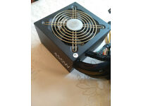 Cooler master silent pro - gold rated 450w psu over 90% efficient
