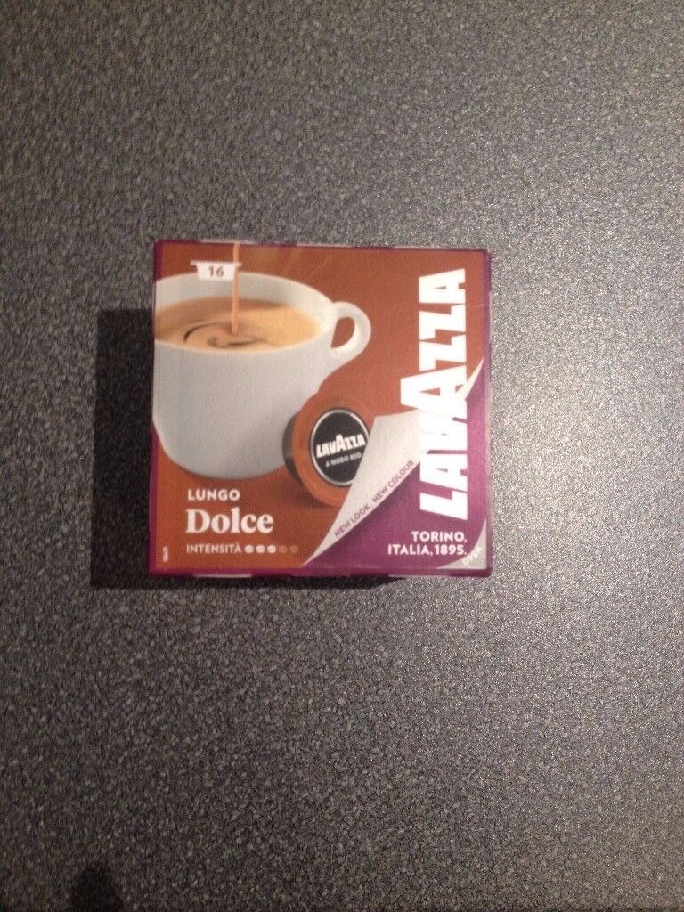 Lavazza Coffee Pods Lungo Dolce X 16 Westbourne In