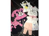 Bundle babygirl clothes 0/3months