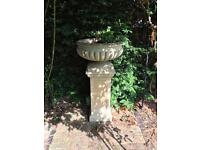 Ornamental plant pot and stand