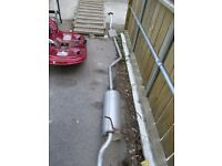 Citroen Xsara Picasso 1.6 Petrol – 2000 – Full exhaust center silencer middle box and rear box tail