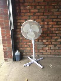 Free standing & rotating fan