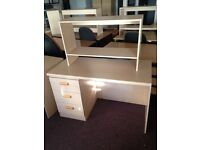 Office Desks with Bookshelf