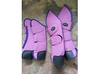 Shires full set of travel boots. Size Medium