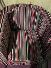 Dfs tub chair - read description