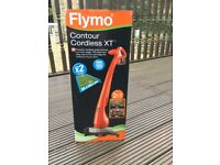 Flymo contour XT powerful grass and edge trimmer brand new in box