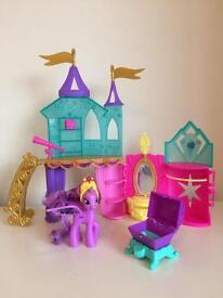 My little Pony Crystal Palace playset