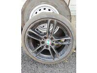 BMW msport alloy 18 inch