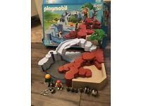 Playmobil penguin set with box & instructions