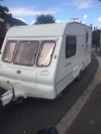 Bailey ranger two berth caravan