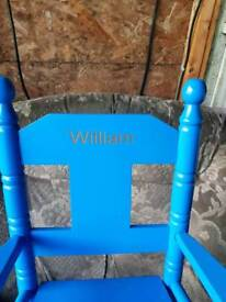 Child's small rocking chair. REDUCED