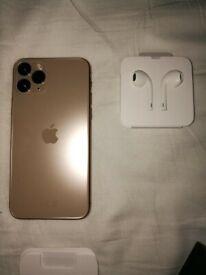 Unlocked iPhone 11 Pro 256gb Gold *Like New*