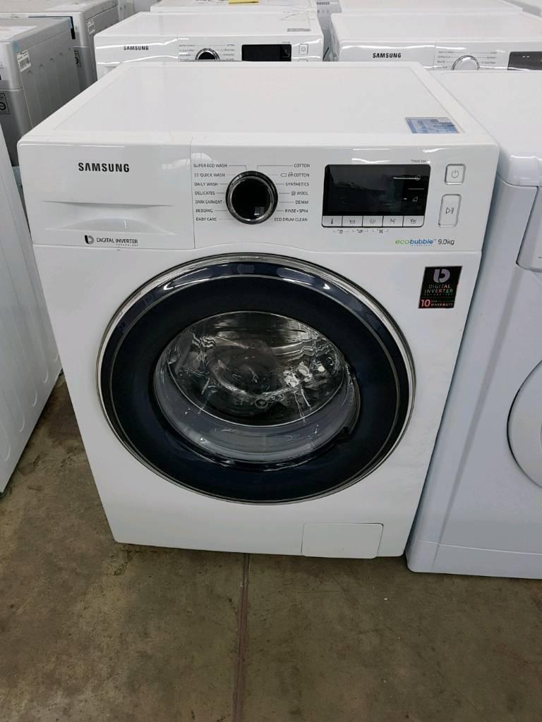 SAMSUNGWW90J5456FW/EU 9 kg 1400 Spin Washing Machine - White *New*