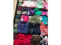 Girls Large Bundle Aged 5-6 years. Joules, Next, Mini Boden
