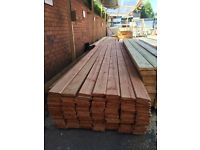 Treated T&G cladding 18mmx100mx3.6m(12ft)