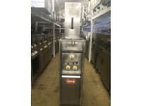 COMMERCIAL VALENTINE Electric Single Well/Basket Fryer 3 Phase TAKEAWAY KEBAB CAFE DINER HOTEL