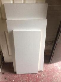 Worktop off cuts, 40mm thick, sizes 600x1230, 600x1030, 430 x 900, £15