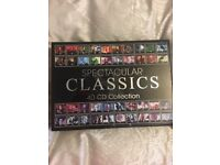 Spectacular Classics 40 CD Collection Brand New in Box