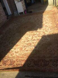 vintage Tomkinson huge rug