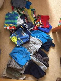 Clothes bundle for 4 year old boy