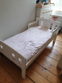 John Lewis Boris Toddler Bed with Mattress