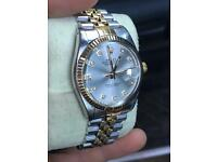 Rolex Datejust - Factory Diamond Dial - Gold & Steel