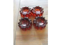 Victorian Caster Cups