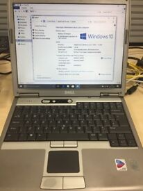 Dell D610 Windows 10 Enterprise with Wireless and Bluetooth