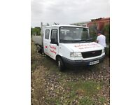 Crew cab tipper for sale