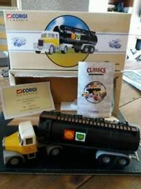 Corgi Shell tankers x 2 boxed