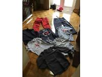 ABERCROMBIE & FITCH 7 items plus 6 other extras inc Levi's, Top Shop, Sol-Cal MENS