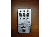 WMD parametric equaliser, guitar pedal, equalizer, excellent condition