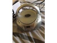 Cd fm portable stereo